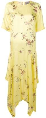 Preen by Thornton Bregazzi asymmetric maxi dress