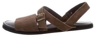 Creatures of Comfort Suede Crossover Sandals
