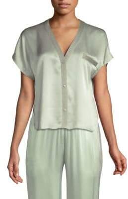 Morgan Lane Joanie Silk Pajama Top