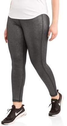 Elite Brands Women's Plus Glitter Leggings