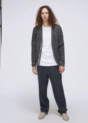 Thom Browne Cable Knit Cardigan