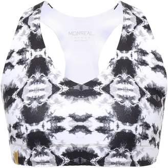 Monreal London Printed Stretch Sports Bra
