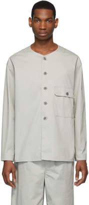 Lemaire Grey V-Neck Shirt