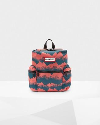 Hunter Printed Top Clip Mini Backpack - Nylon