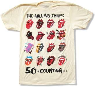 "Bravado The Rolling Stones ""Tongue Evolution"" 2013 Tour T-Shirt"