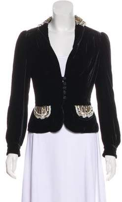 Marc by Marc Jacobs Sequined Velvet Jacket