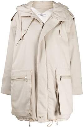 Katharine Hamnett oversized hooded parka