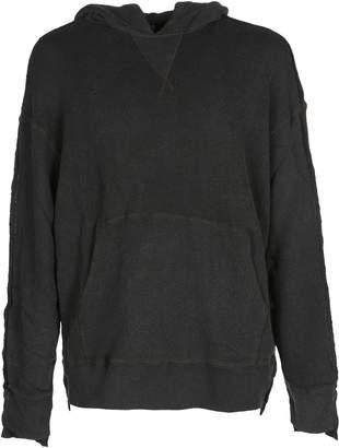 R 13 Fleece Hooded Oversize