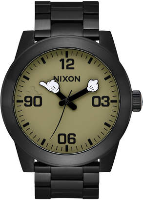Nixon Men's Corporal Mickey Stainless Steel Bracelet Watch 48mm A346