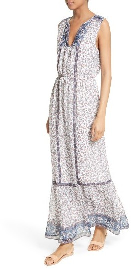 Women's Joie Atisha Mixed Print Maxi Dress 4