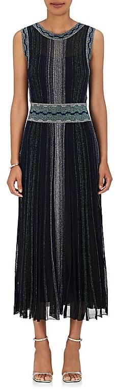 Missoni Women's Metallic Knit Stretch-Silk Midi-Dress