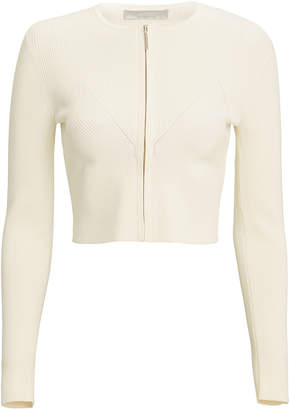 Jason Wu Zip Front Knit Cardigan