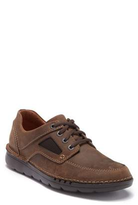 Clarks Unnature Time Leather Sneaker - Wide Width Available