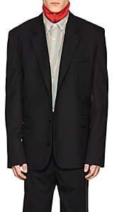 Martine Rose Men's Wool Oversized Three-Button Sportcoat - Black