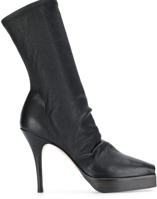 Rick Owens high heeled boots