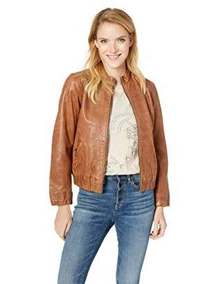 Lucky Brand Women's ANA Leather Jacket