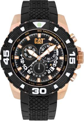 evo CAT WATCHES Men's PT19321129 Sport Analog Display Quartz Black Watch