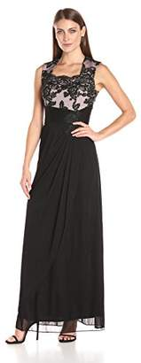 Alex Evenings Women's Empire Waist Dress (Petite and Regular)