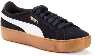 PUMA Vikky Platform Women's Suede Shoes $70 thestylecure.com