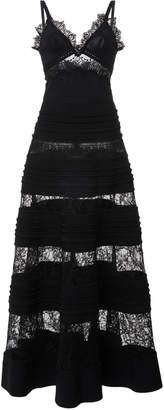 Elie Saab Lace Insert Maxi Dress