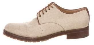 Dries Van Noten Linen Derby Shoes