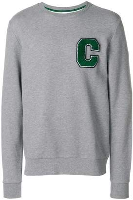 CK Calvin Klein terry logo sweatshirt