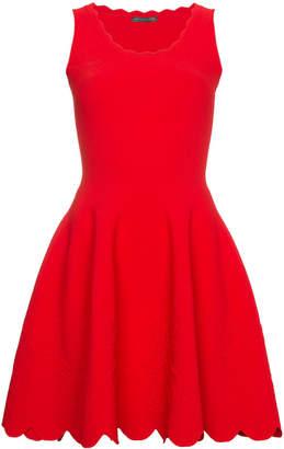 Alexander McQueen Scoop Neck Dress