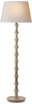 Visual Comfort & Co. Bamboo Floor Lamp - Belgian White