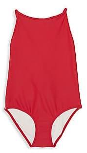 Burberry Little Girl's& Girl's One-Piece Sandine Swimsuit