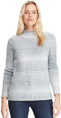 Chaps Women's Mockneck Ribbed Sweater