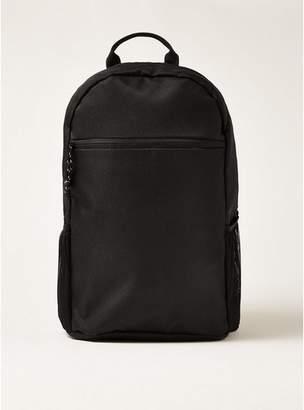 Topman Mens Classic Black Backpack