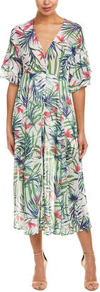 Ark & Co The Room By Bell-Sleeve Maxi Dress