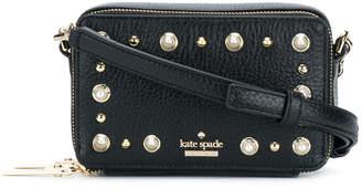 Kate Spade studded mini box shoulder bag