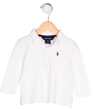 Ralph Lauren Boys' Knit Polo Shirt
