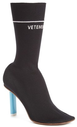 Women's Vetements Sock Boots $1,260 thestylecure.com
