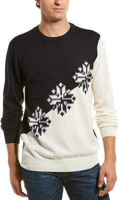 Scotch & Soda Lightweight Wool Crewneck Sweater