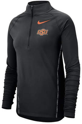 Nike Women Oklahoma State Cowboys Element Half-Zip Pullover