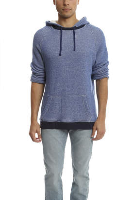 Robert Geller Crop Sleeve Hoody