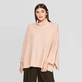 Prologue Women's 3/4 Sleeve Turtleneck Pullover Sweater - PrologueTM