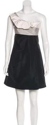 Gucci Silk One-Shoulder Dress