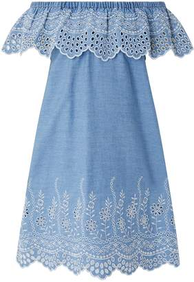 Next Girls Monsoon Aleaha Chambray Dress