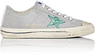 Golden Goose Women's Women's V-Star 2 Suede Sneakers $495 thestylecure.com