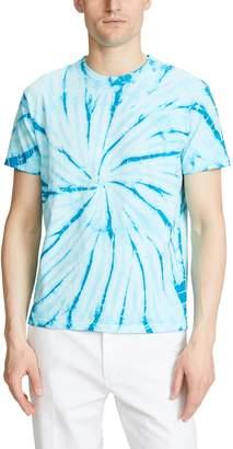 Velva Sheen Spiral Tie Dye T-Shirt