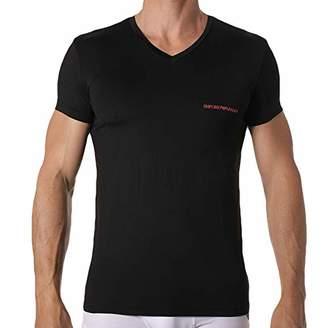 Emporio Armani Men's Essential Microfiber Vneck T-Shirt