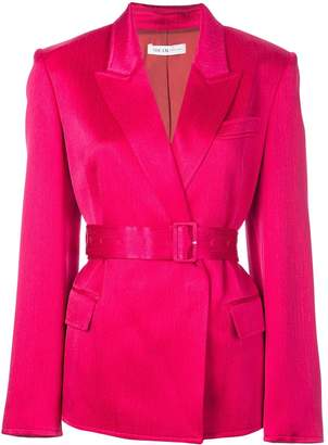 ADEAM single-breasted belted blazer