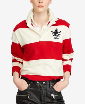 Polo Ralph Lauren Monogram Cotton Rugby Shirt
