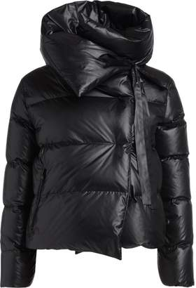 Puffa Bacon Clothing Bacon Black Down Jacket.