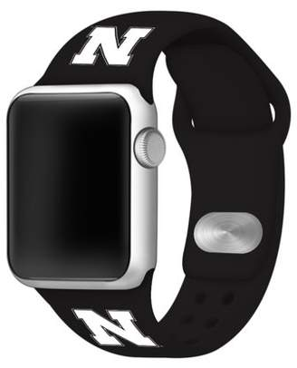 Affinity Bands Nebraska Huskers Silicone Sport Band Compatible with Apple Watch - BAND ONLY