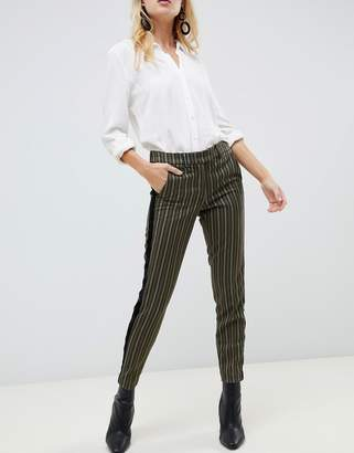 Sisley stripe tailored trouser