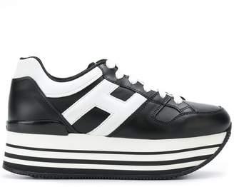 Hogan logo embellished platform sneakers